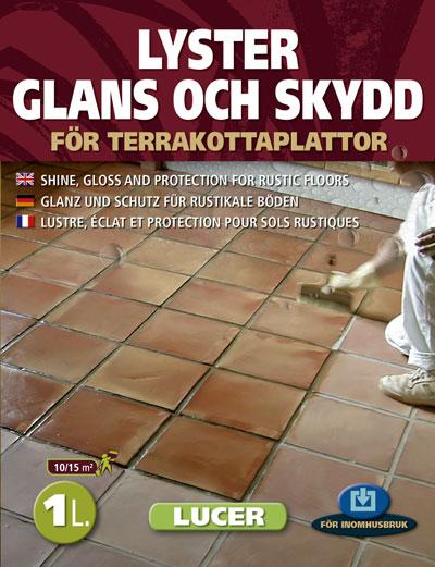 Producto Lucer en idioma sueco