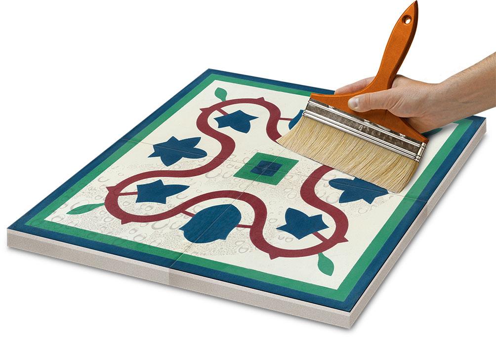Azulejo de Mosaico hidráulico