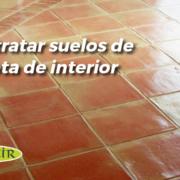 tratar suelos de terracota interior