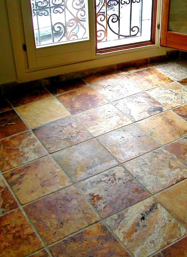 Cómo limpiar suelos de piedra, pizarra y mármol