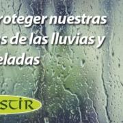 proteger fachadas lluvias