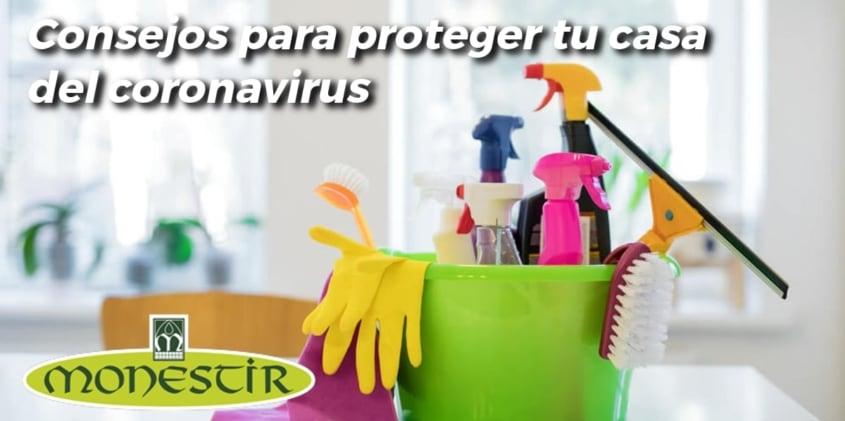 Limpieza casa coronavirus