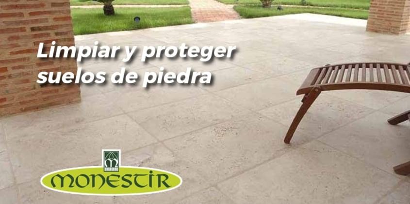limpiar suelos de piedra