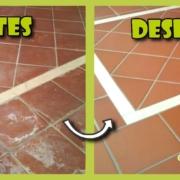 limpieza suelo gres rustica