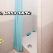 la ducha como nueva