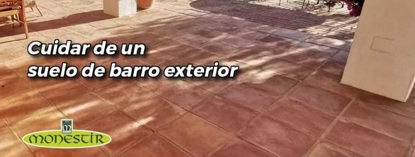 cuidar de un suelo de barro exterior